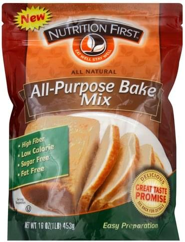 Nutrition First All-Purpose Bake Mix - 16 oz