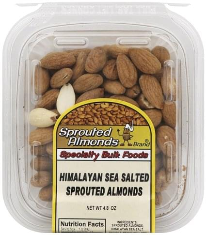 Sprouted Almonds Himalayan Sea Salted