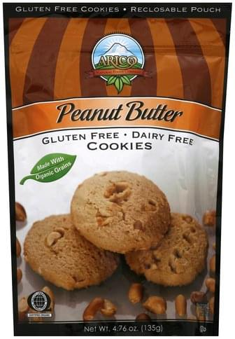 Arico Peanut Butter Cookies - 4.76 oz