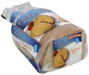 Weight Watchers Bread Seedless Rye