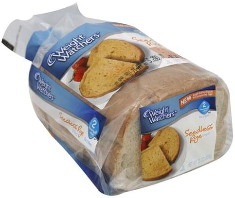 Weight Watchers Seedless Rye Bread - 13 oz