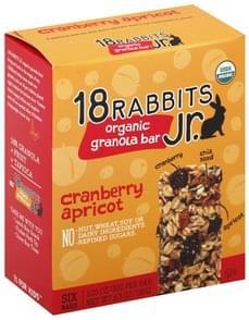 18 Rabbits Granola Bar Organic, Cranberry Apricot