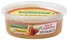 Good Neighbors Hummus Organic, Spicy Chipotle