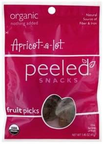 Peeled Fruit Picks Apricot-A-Lot