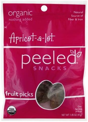 Peeled Apricot-A-Lot Fruit Picks - 1.45 oz