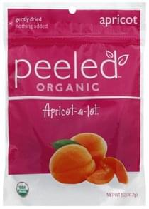 Peeled Dried Fruit Snacks Organic, Apricot-A-Lot