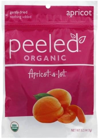 Peeled Organic, Apricot-A-Lot Dried Fruit Snacks - 5 oz