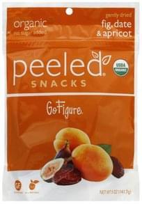 Peeled Dried Fruit Snacks Organic, Go Figure