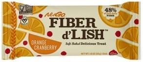 NuGo Delicious Treat Soft Baked, Orange Cranberry