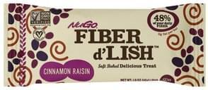 NuGo Delicious Treat Soft Baked, Cinnamon Raisin