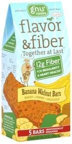 Gnu Foods Banana Walnut Bars