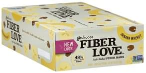 Gnu Foods Fiber Bars Soft-Baked, Banana Walnut