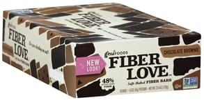 Gnu Foods Fiber Bars Soft-Baked, Chocolate Brownie