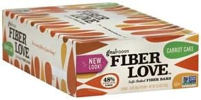 Gnu Foods Fiber Bars Soft-Baked, Carrot Cake