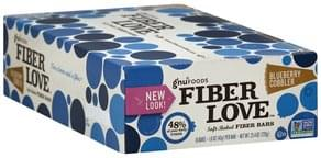 Gnu Foods Fiber Bars Soft-Baked, Blueberry Cobbler