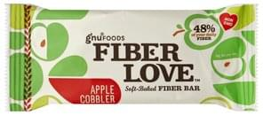Gnu Foods Fiber Bar Soft-Baked, Apple Cobbler