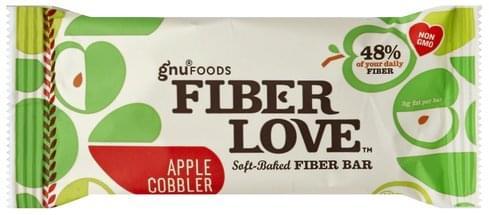 Gnu Foods Soft-Baked, Apple Cobbler Fiber Bar - 1.6 oz