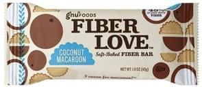 Gnu Foods Fiber Bar Soft-Baked, Coconut Macaroon