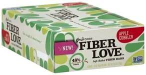 Gnu Foods Fiber Bars Soft-Baked, Apple Cobbler