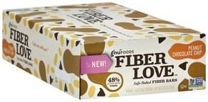 Gnu Foods Fiber Bars Soft-Baked, Peanut Chocolate Chip