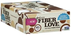 Gnu Foods Fiber Bars Soft-Baked, Coconut Macaroon