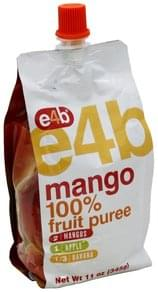 e4b 100% Fruit Puree Mango