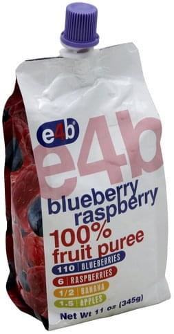 e4b Blue Raspberry 100% Fruit Puree - 11 oz