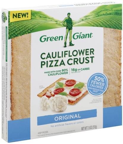 Green Giant Cauliflower, Original Pizza Crust - 7.5 oz