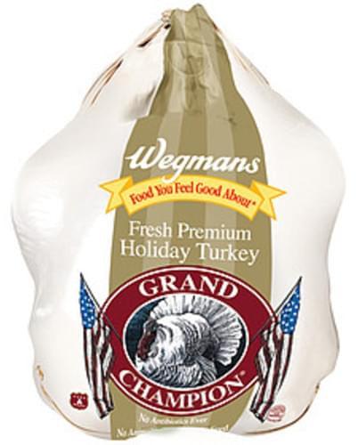 Wegmans Fresh Premium Holiday Turkey Poultry - 1 lb