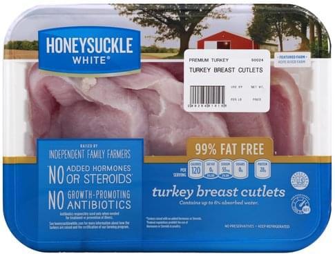 Honeysuckle White Turkey Breast Cutlets - 1 ea