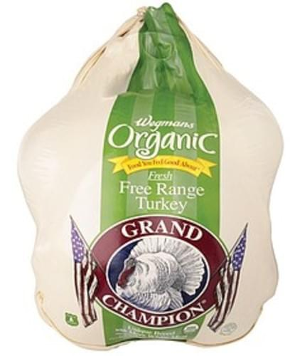 Wegmans Fresh Free Range Turkey Poultry - 1 lb
