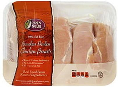 Open Nature Chicken Breasts Boneless, Skinless