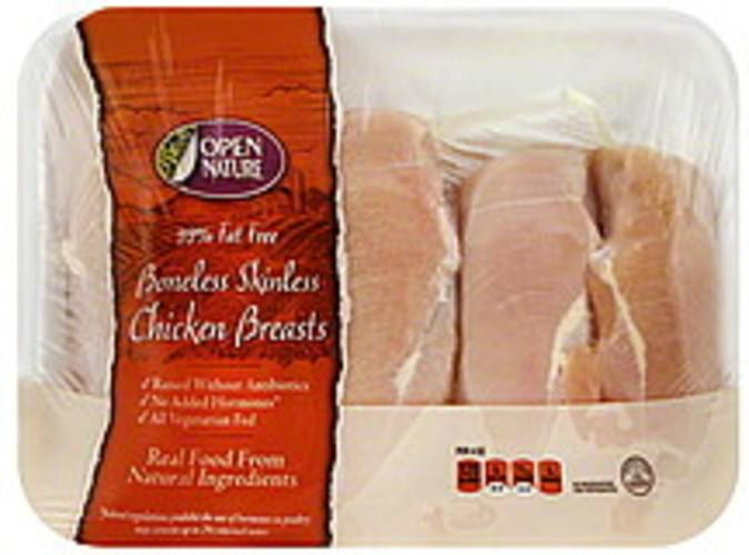 Open Nature Boneless, Skinless Chicken Breasts - 1 ea