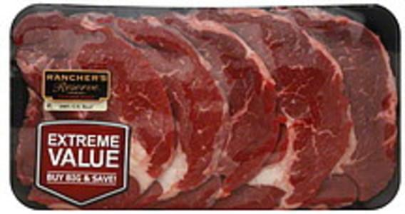 Ranchers Reserve Beef Chuck Steak Boneless, Thin, Extreme Value