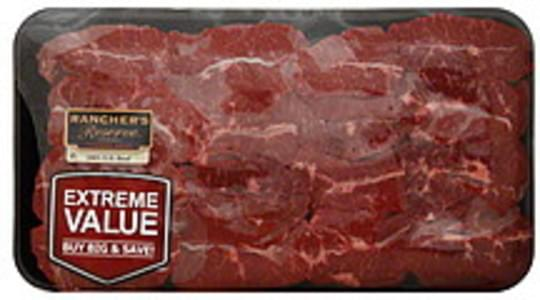 Ranchers Reserve Beef Chuck Top Blade Steak, Boneless, Extreme Value