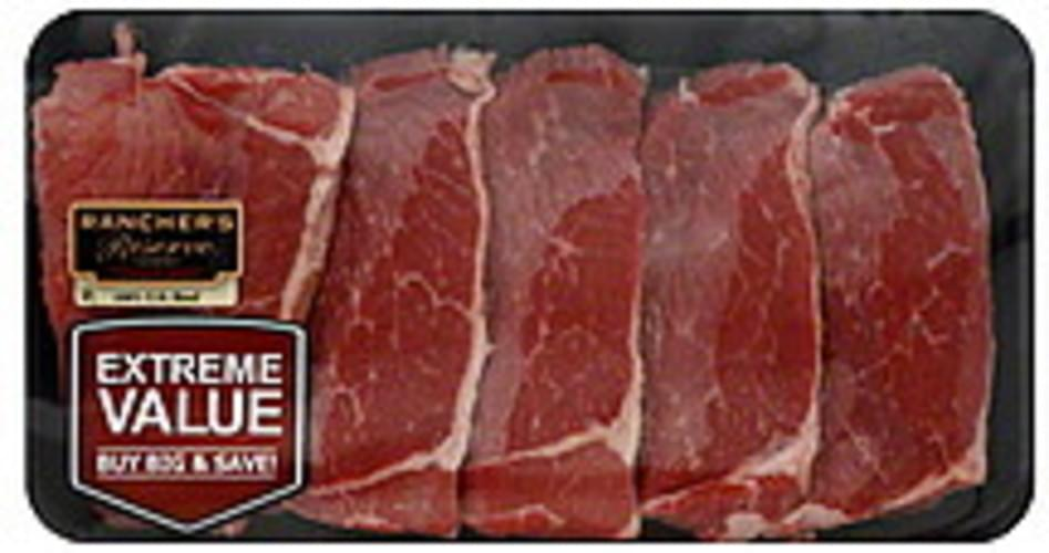 Ranchers Reserve Bottom, Extreme Value Pack Beef Round Steak - 1 ea
