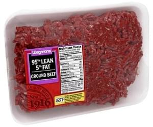 USDA Ground Beef 95% Lean Ground Beef