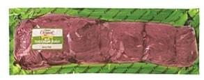 USDA Beef Organic Beef Tenderloin Roast, Grass<Fed