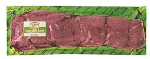 USDA Organic Beef Tenderloin Roast, Grass<Fed Beef - 1 lb