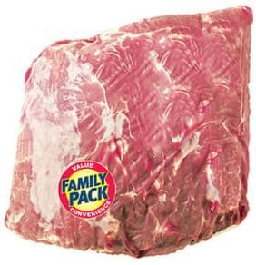 Wegmans Pork Whole Bone<In Pork Shoulder Blade Roast, FAMILY PACK