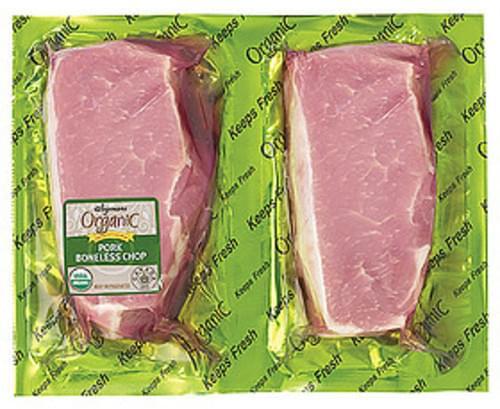 Wegmans Boneless Pork Chops Pork - 1 lb