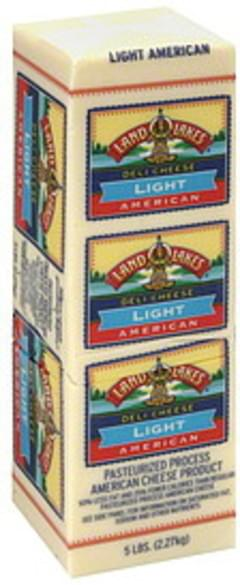 Land O Lakes Deli Cheese American, Light