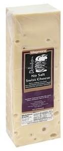 Wegmans No Salt Swiss Cheese No Salt Added Swiss Cheese