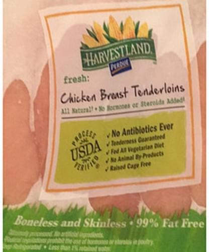 Harvestland Perdue Chicken Breast Tenderloins - 112 g
