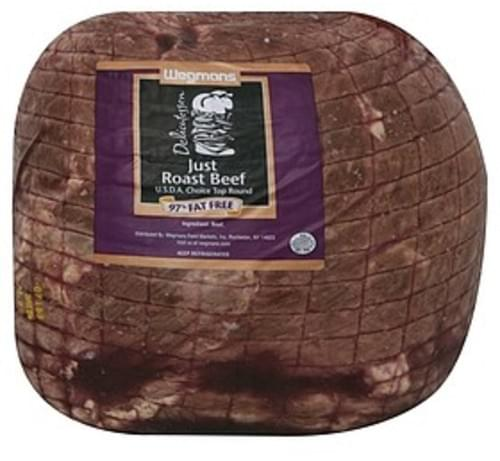 USDA Roast Beef Choice Top Round - 1 lb