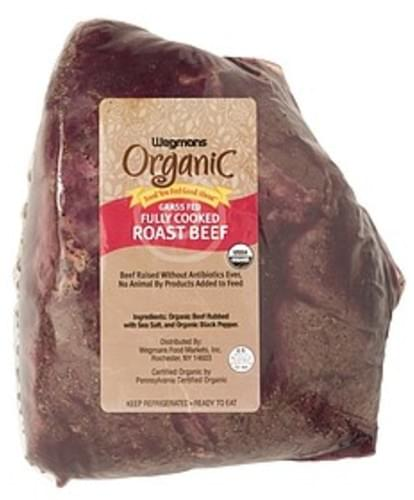 USDA Grass Fed Fully Cooked Roast Beef Beef - 1 lb
