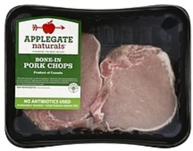 Applegate Pork Chops, Bone-In