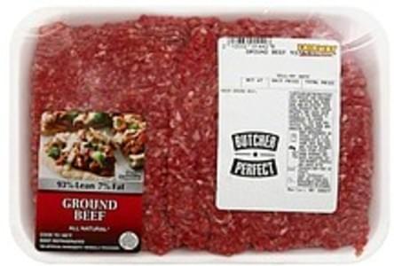 Fairway Beef Ground, 93% Lean/7% Fat