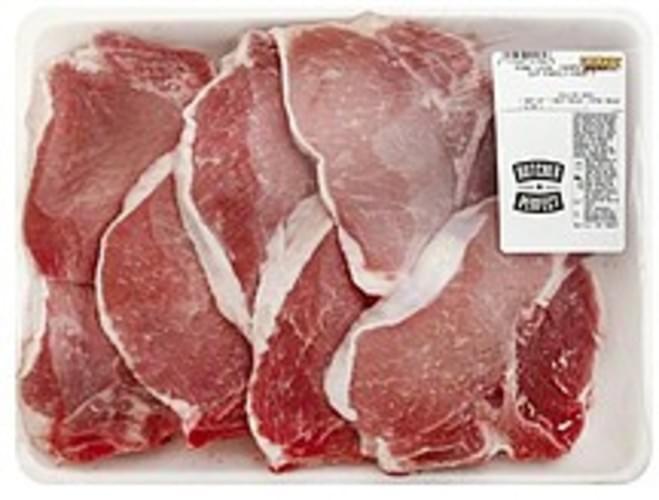 Fairway Center Cut, Chops, Family-Pack Pork Loin - 1 ea