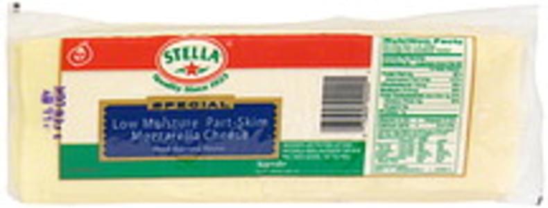 Stella Sliced Cheese Regular, Mozzarella
